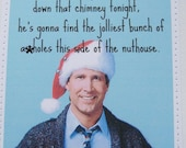 Mature funny Christmas Vacation card.