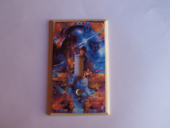 Star Wars Light Switch Plate Cover