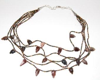 Specolite Multi-Strand Necklace