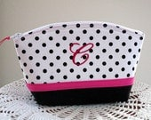 Personalized Cosmetic Bag Clutch Purse Bridesmaid Party Gift