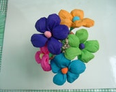 Mexican Crepe Paper Handmade flowers