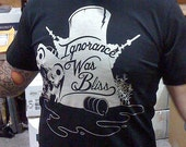 Ignorance was Bliss black tee shirt
