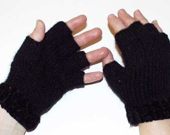Knitting Pattern for Fingerless Gloves