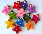 Felt Star Pin  for Custom Orders