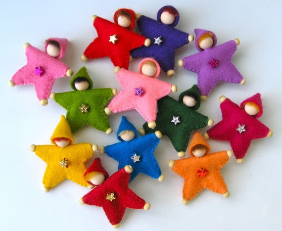 Felt Star Pin  for Custom Orders