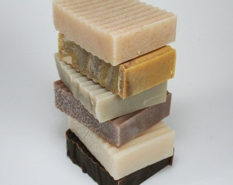 Handmade Soap Variety Pack - 3 soap bars of your choice