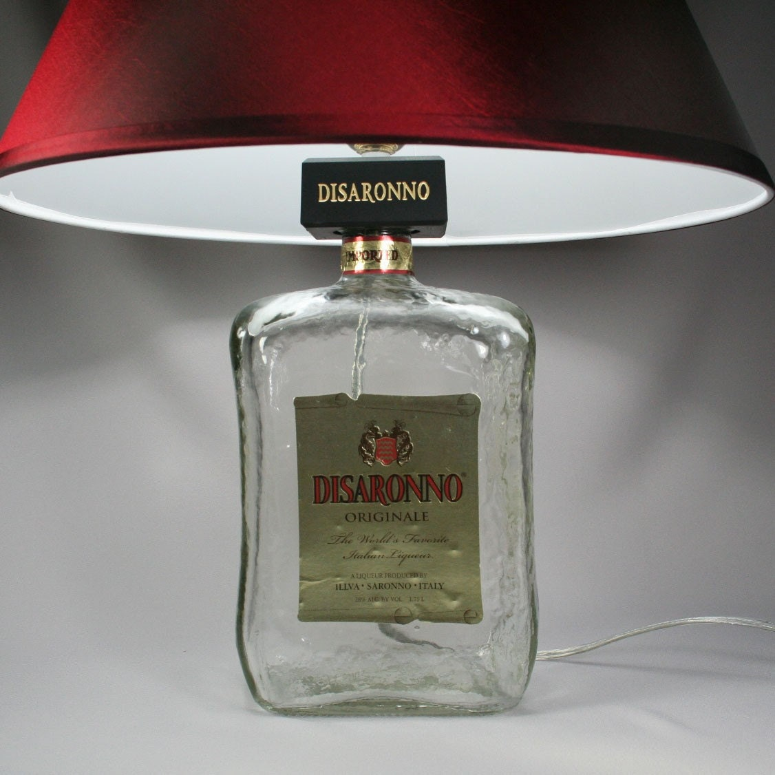Disaronno Amaretto Liqueur Lamp Large 1 75 Ltr Bottle