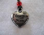 I Love You Mom -- Beautiful Heart Book Thong