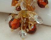 River Glass - Artisan Handmade Bead Woven Bracelet