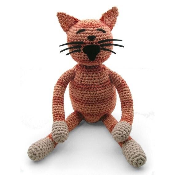 custom crocheted cat, custom pet portrait, pet memorial, personalized pet gift