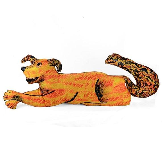 decorative pillow, dog pillow, animal pillow, dog shaped big pillow