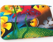 Tropical Fish -  Zippered Pouch