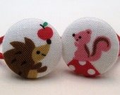 Harry the Hedgehog...Showing Off - Adorable and Fun Ponytail Holders for Little Girls
