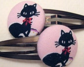 Here Kitty Kitty - Adorable and Fun Hair Clips for Little Girls