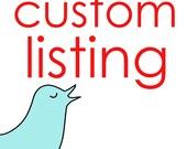 Custom listing for hcarter27
