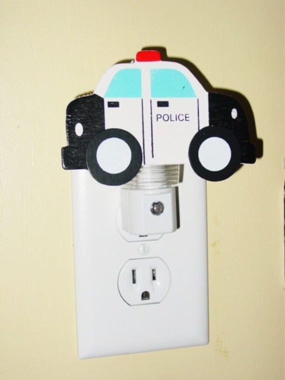 Police Car night light Law Enforcement Officer Night light