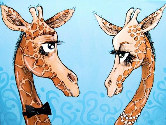 Giraffe Print: The Crush