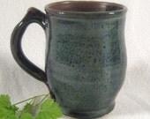 Mug- Earth Blue and Brown