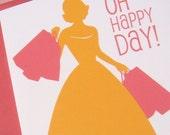 Oh Happy Day Card (Bella Figura)