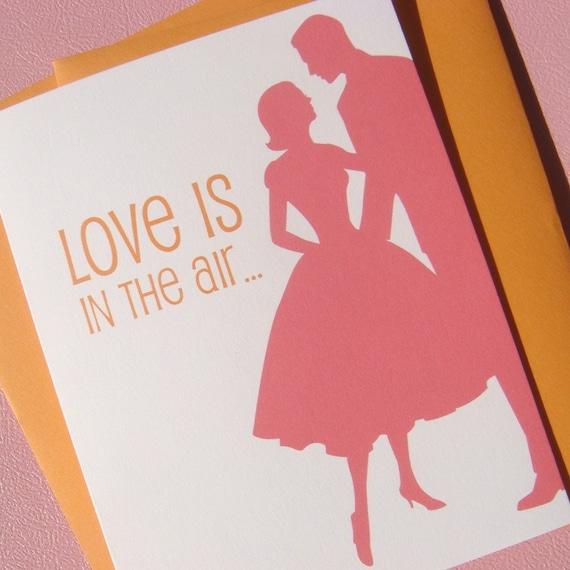 Love Is In The Air Card (Bella Figura)