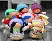 PATTERN Doll Little Girl Friend PDF