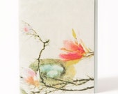 Magnolia Nest -Happy Birthday Greeting Card- Gorgeous Art