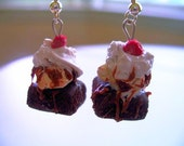 Brownie Sundae a La Mode Earrings Sale