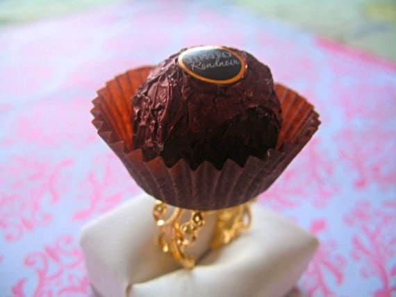 Chocolate Truffle Ring SALE