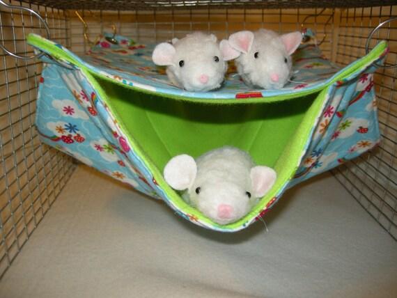 Rat Hammock  Pet Double Hammock,  Rat, Squirrel, Ferret,Guinea Pig