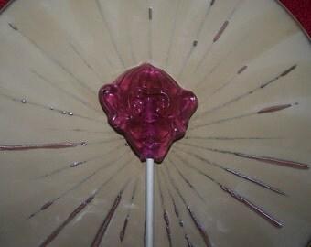 8 Monkey Head Monkies Face Lollipop Party Favor Sucker