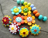 Pocket Full of Posies - Bright and Colorful Beads -  SRA