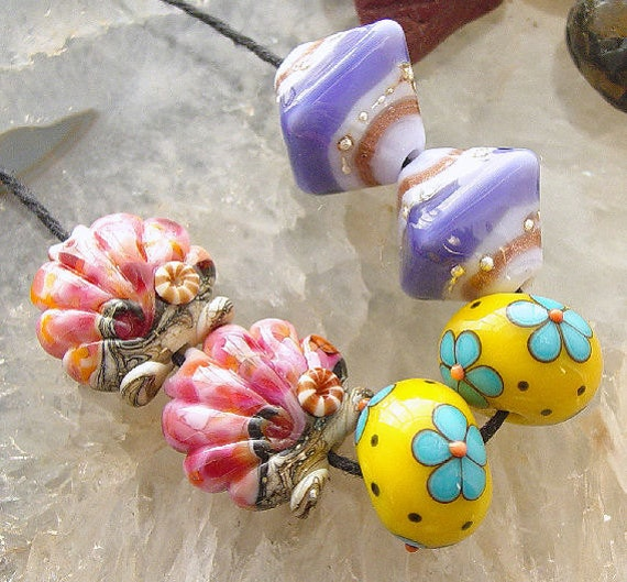 Earring Lovers Set - 6 Beads - 3 Pairs - Set 4 - SRA