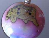 Purple Hedgehog Pendant
