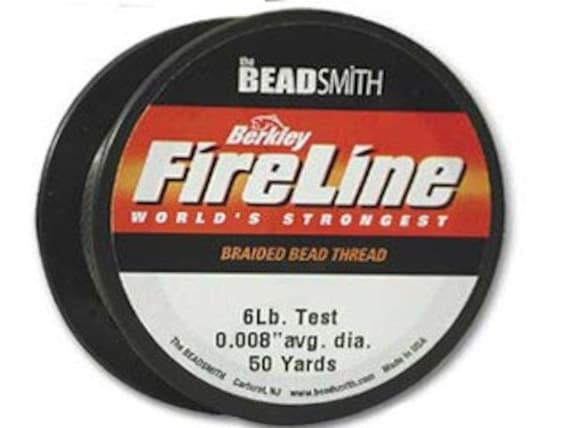 FIRELINE Braided Thread Beading Cord 125 yd