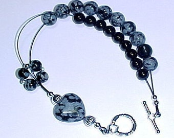 Hearts Desire Gemstone Abacus Row Counter Bracelet -  Item No. 603