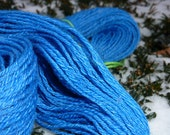 SPRING - 255 yards 4 ply handspun Merino Tencel sport weight yarn