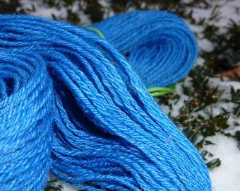 SPRING - 255 yards 4 ply handspun Merino Tencel sport weight yarn