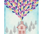 Joyful Home 8.5 x11 art print