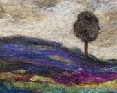 No.546 Lone Tree Too - Needlefelt Art XLarge