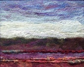No.368 Warm Hills Too - Needlefelt Art Large