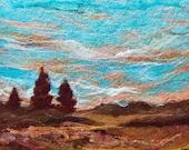 No.446 Indian Summer - Needlefelt Art XLarge