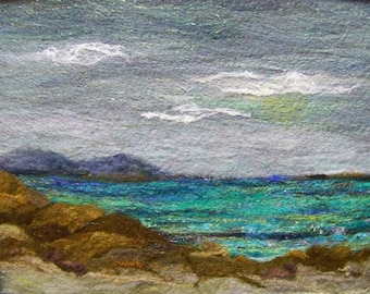 No.578 Ocean View Too - Needlefelt Art XLarge