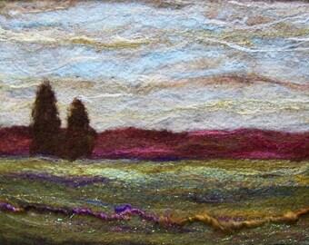 No.649 Rose Hills - Needlefelt Art XLarge