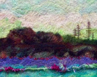 No.295 Fantasy Land - Needlefelt Art Large