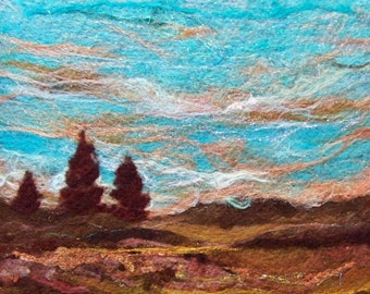 No.446 Indian Summer - Needlefelt Art XLarge