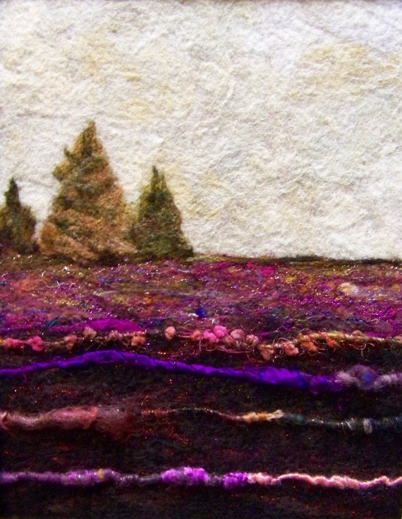 No.499 Hillside Too - Needlefelt Art XLarge