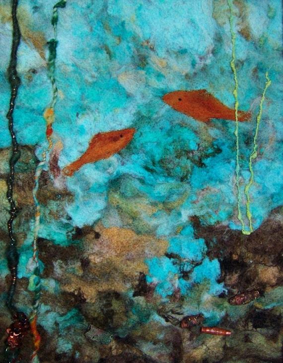 No.720 Undersea Tour - Needlefelt Art XLarge