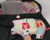 pink pig sewing kit