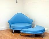 HAVANA  Lounge chair and ottoman Mid Century Modern Design by J Sebastian for Lunar Lounge