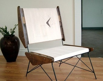 ARCH  Accent chair Mid Century Modern Eames Era